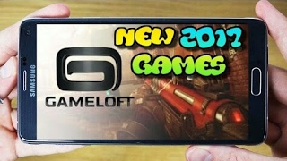 Top 10 offline Gameloft games for android    High graphics games from Gameloft free 2017