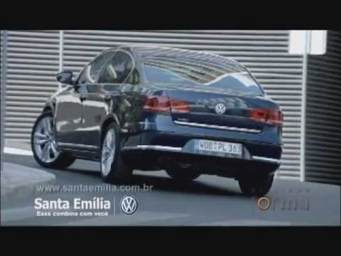 Test Drive novo PASSAT 2012 na Santa Emlia Volkswagen -Programa Forma