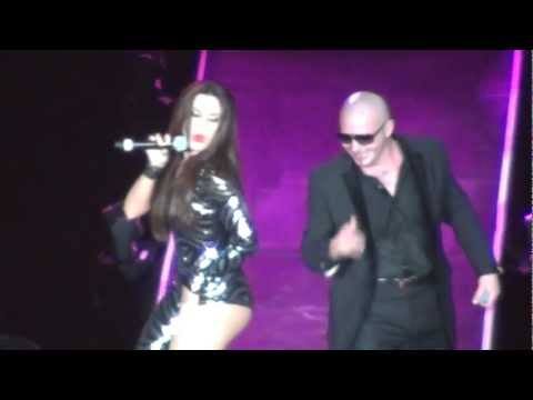 Pitbull feat. Nayer Give Me Everything Tonight LIVE at Prudential Center Music Videos