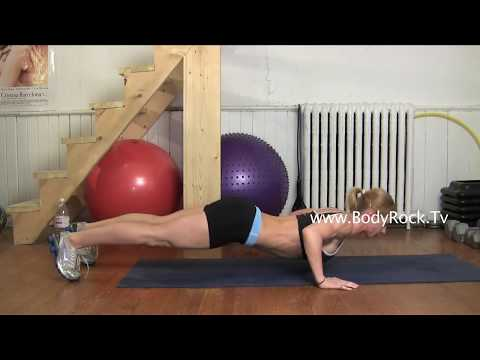 Fitness - Dive Bomber Push Ups Exercise