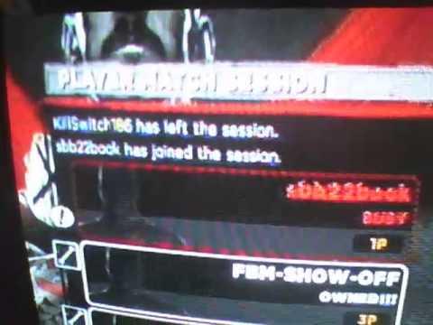 WWE 13 KillSwitch186 Biggest pussy in wwe 13