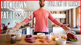 My Lockdown Fat Loss Diet | Full Day of Eating