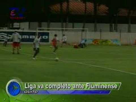 Liga va completo ante Fluminense