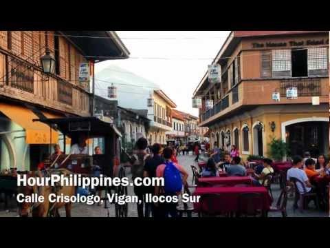 Calle Crisologo Vigan Ilocos Sur by HourPhilippines.com