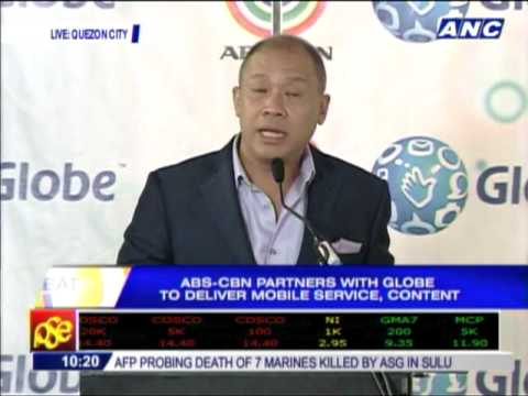 Globe vows to help ABS-CBN Mobile succeed