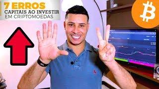 🔴 BITCOIN | 7 ERROS FATAIS | ELE PERDEU R$ 90 MIL REIAS COM CRIPTOMOEDAS!!!