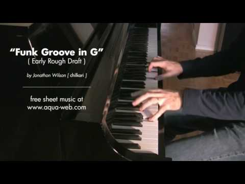 Piano Funk Groove in G