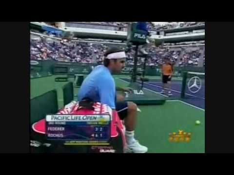 Roger Federer vs Olivier Rochus Video