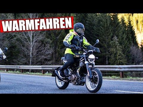 MOTORRAD RICHTIG WARMFAHREN