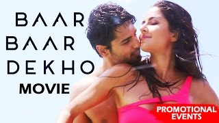Baar Baar Dekho Full Movie (2016) Promotional Events | Katrina Kaif, Sidharth Malhotra