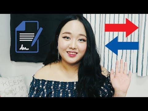 Переехала и подписала контракт с корейской компанией