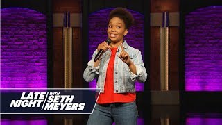 Amber Ruffin Raps a Response to Kanye West
