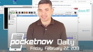 Galaxy S IV Design Confusion, HTC's Software Wows, Sony Xperia SP Leaks & More - Pocketnow Daily
