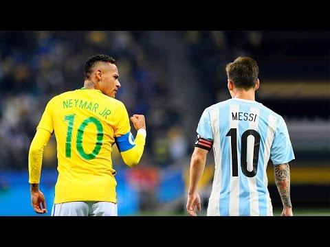 Neymar Jr vs Lionel Messi ● Brazil & Argentina Heroes thumbnail