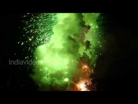 A Fascinating Fiesta of Colours - Fireworks of Thrissur Pooram