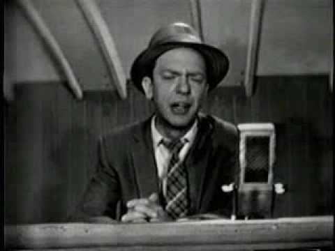 Don Knotts Announces Baseball Video