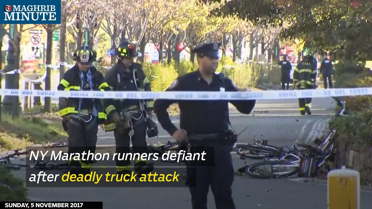 NY Marathon runners defiant after deadly truck attack