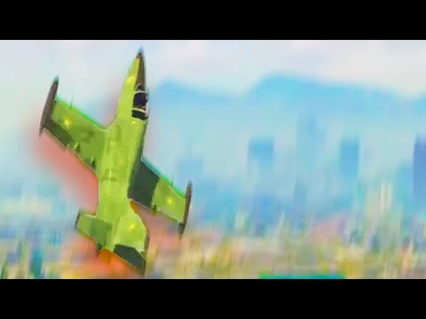 Crazy Jet Stunts in GTA 5! (GTA 5 Stunt Montage)