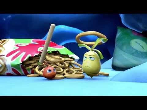 Прикольный мультик «Овощная вечеринка» - Кальмары (90 серия)