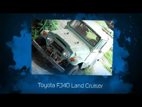 List of Toyota Rear Wheel Drive Vehicles