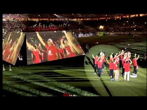 Celebración cuarta UEFA Europa League en el Ramón Sánchez Pizjuán. Sevilla FC