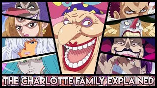 Explaining Every Member Of The Charlotte Family - Big Mom's 85 Children Explained | One Piece