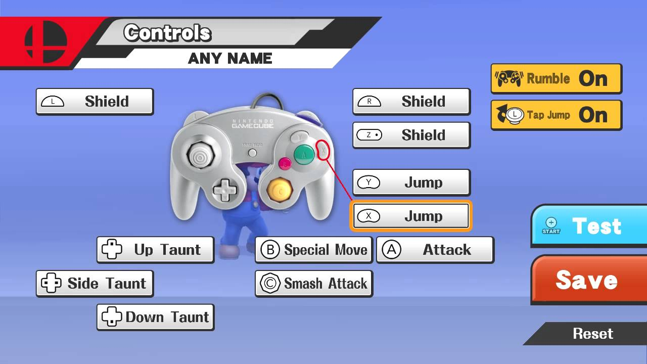 How To Change The Controls In Super Smash Bros For Wii U YouTube