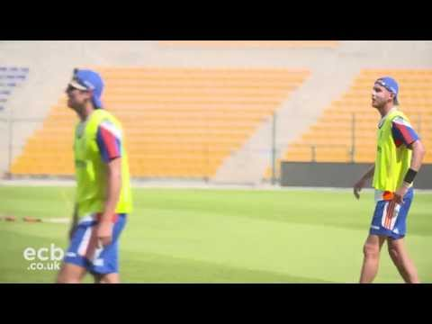 England player training focus 2: Stuart Broad