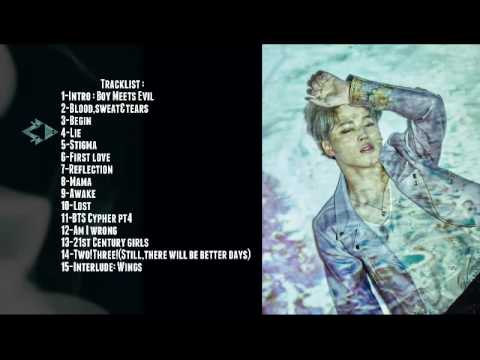 BTS (방탄소년단) WINGS [FULL ALBUM] + DOWNLOAD LINKS