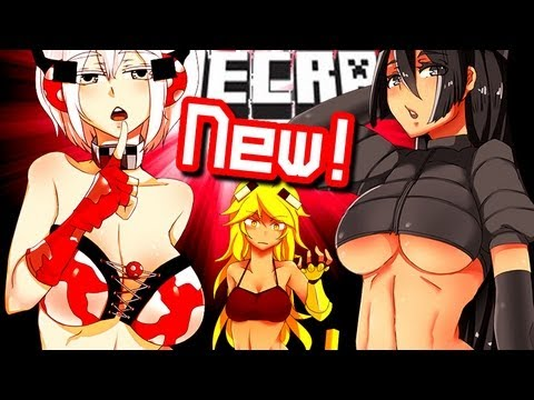 Minecraft NEW SEXY GIRLS! Wither Skeleton Girl & More!