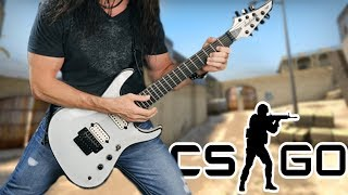 Playing Guitar on CS:GO - Youtuber Gameshow #2!