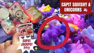 CAPIT SQUISHY & LITTLE PONY | MAIN BOLA MISTERI DAPAT JACKPOT??!! CLAW MACHINE | 夾娃娃