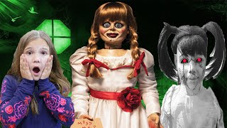 Escape Annabelle! Creepy Animatronics Come To Life! Never Blow Out A Jack O Latern