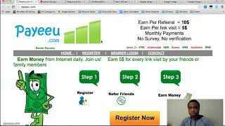 Payeeu.com Scam Review | This Scam Site Will Not Pay You, Watch This Review First