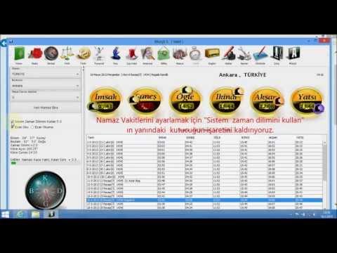 M�r�it 5 de vakit / saat ayar�  Windows 8