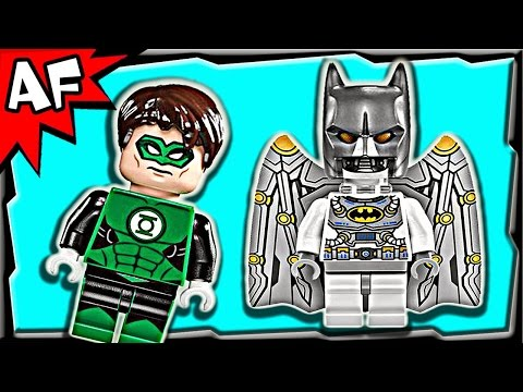 GREEN LANTERN vs Sinestro 76025 Lego DC Comics Super Heroes Stop Motion Set Review