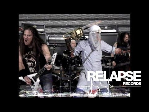 EXHUMED - Naked, Screaming and Covered in Blood (Official Music Video)