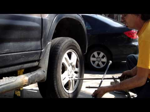 Honda CRV EX sway bar link Pass how to