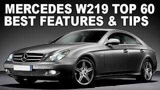 TOP 60 BEST LIFE HACKS FOR MERCEDES W219, W211 / Top 60 Most Useful tips & interesting features W219