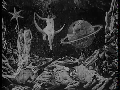 A Trip to the Moon 1902 - The first SciFi movie!