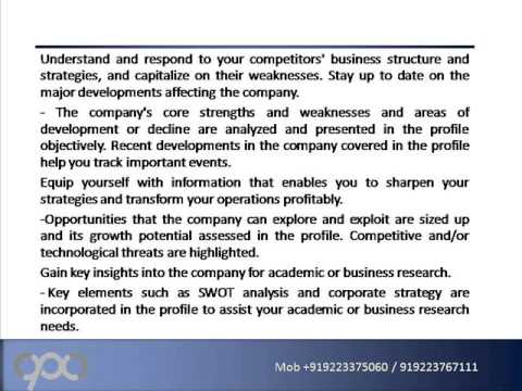 Relaince SWOT Analysis Essay Sample