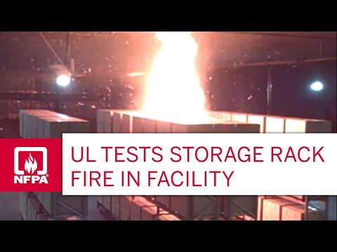 Underwriters Laboratories Fire Test Youtube