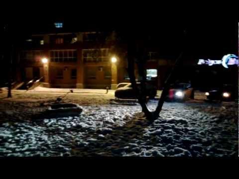 Камера Nokia Lumia 920 ночью с подсветкой (night light). 1080p. Full HD