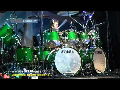 Simon Phillips - Drum Solo Performance - Drum Fest 2009 Sticklibrary