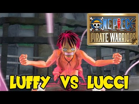 One Piece Pirate Warriors: Sanji vs Jabra. Zorro vs CP9. & Luffy vs Lucci
