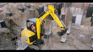 JCB51R Mini Excavator - For Infrastructure Development Works