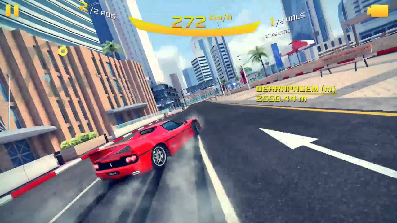 Ferrari F50 Continuous Drift