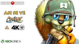 Asi se ve Conker Live & Reloaded en Xbox One X a 4K 60fps enhanced |MondoXbox