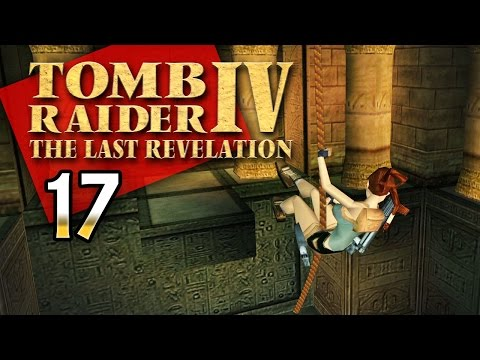 Tomb Raider 4 #017 [GER] - Steil am Seil - Let's Retro