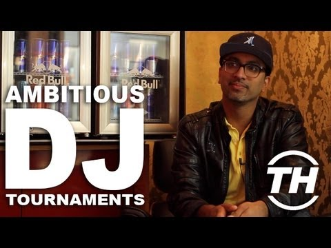 Ambitious DJ Tournaments: DJ M-Rock Goes All Out to Win at Red Bull Thre3style